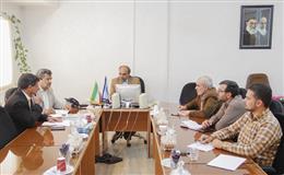 جلسه هماهنگی برنامه های دفاع مقدس